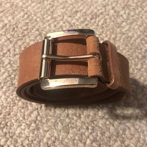 Michael by Michael Kors Leather Belt